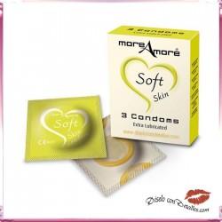 Preservativos Suaves Extra Lubricados