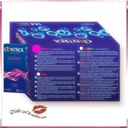 Preservativos COntrol Adapta Senso
