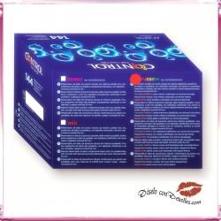 Preservativos Control Fusion Sabores