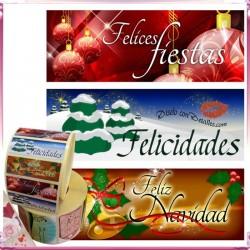 Etiquetas Adhesivas Navidad