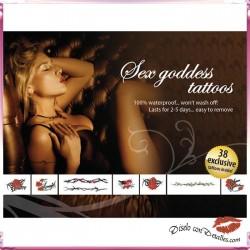 Tatuajes Motivos Diosas del Sexo