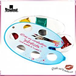 Paleta Pintor 6 Preservativos Sabores