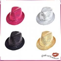 Sombreros lentejuelas adaptable 4 Colores