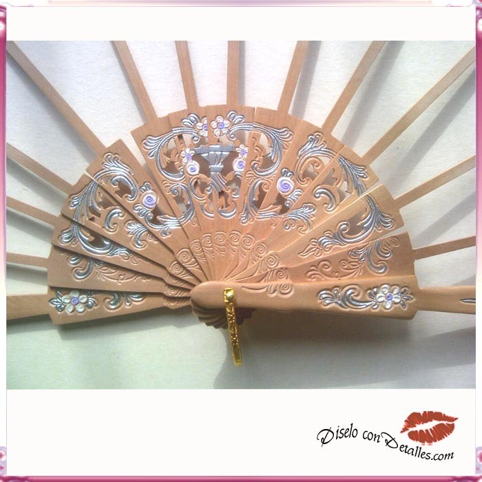 Varillas de abanicos realizados en madera de peral - Varillas de madera ...