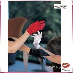Guantes cortos de Color Rojo M&S lingerie