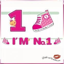 Baner I'M Nº 1 Rosa