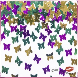 Confettis Mariposas de Colores 15 gr