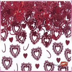 Confettis Corazones Rojos Surtidos 15 gr