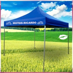 Carpa Acero 3x3 Plegable 420D