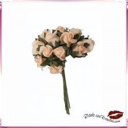 Ramillete Rosas 12 uds
