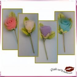 Flor de Organza en Colores