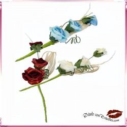 Ramilletes con 3 Rosas