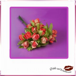 Ramillete 12 Rosas Rojas