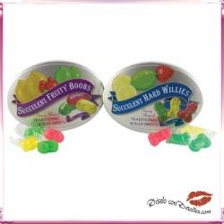 Caramelos con Formas de Pechos o Penes