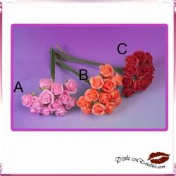 Ramilletes de 12 Rosas