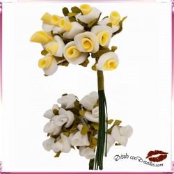 Rosas Blancas o Amarillas