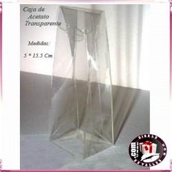 Caja de Acetate Transparente 5 x 15