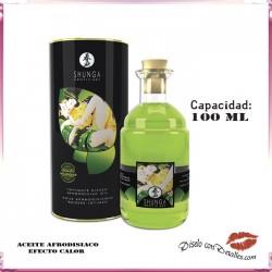 Aceite Afrodisiaco Efecto Calor Te Verde