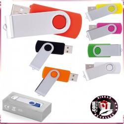 Memória Usb 4 Gb y 8 Gb Varios Colores