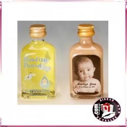 Botellas de Licor Personalizadas para Bautizos