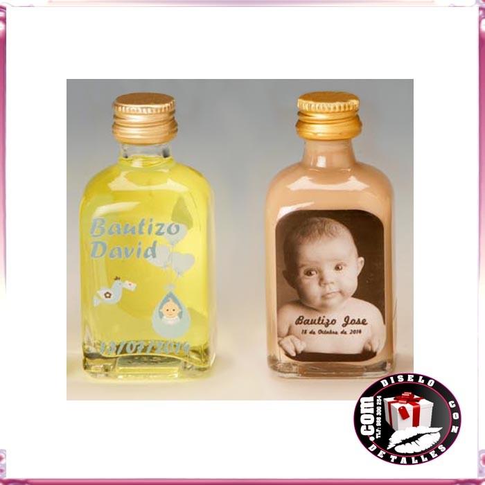 Botellas De Vino Para Regalar En Bautizos.Botellas De Licor Personalizadas Para Bautizos