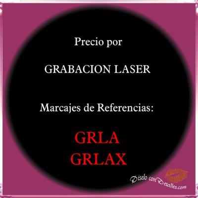 Precio por Grabación Laser