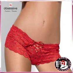 Obsessive shorties Bloom Rojo