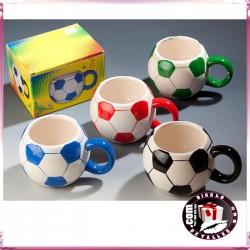Taza Pelota de Fútbol
