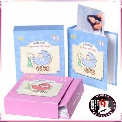 Album de Fotos Bebé Azul o Rosa