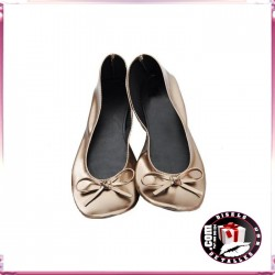 Zapatillas Enrollables Bronce