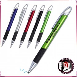 Boligrafo Plástico Metalizado Axis