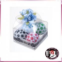 Cajas con Bombones Pelotas de Fútbol