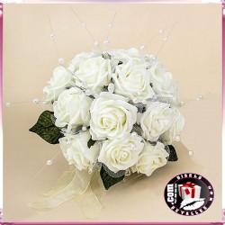 Bouquet de rosas 18 cm