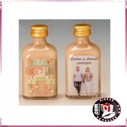Botellas de Licor Personalizadas para Bodas