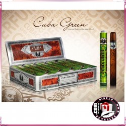 Colonia con forma de puro Cuba Green 35ml.