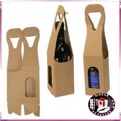 Cajas Kraft para Botellas