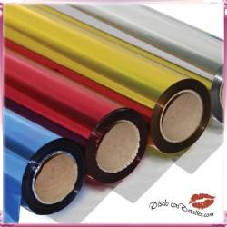 Papel Celofán Metalizado Liso