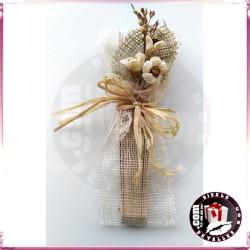 Arreglos para Abanicos con Ramilletes Flor Seca