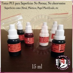 "Tinta para Sellos Permanente "" PUI "" 15 ml"
