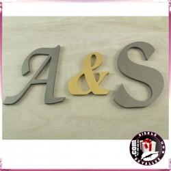 Letras 15 x 15 cm