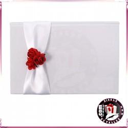 Caja Porta-Billetes con Rosas