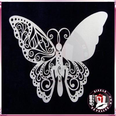 Mariposas Marca Sitios 12 uds