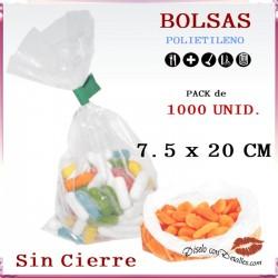 Bolsas Polietileno 7.5 x 20 cm (1000 uds)