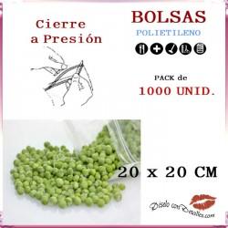 Bolsas con Autocierre 20 x 20 cm (1000 uds)