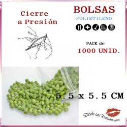Bolsas con Autocierre 5.5 x 5.5 cm (1000 uds)