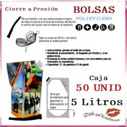 Bolsas Multiusos para Líquidos Capacidad 5 L (50 uds)