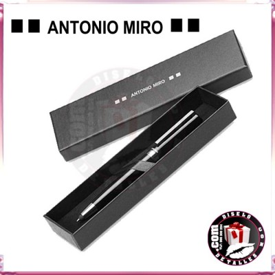 Bolígrafo Metal con Puntero Antonio Miró