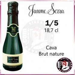Cava  Jaume Serra Brut nature 1/5