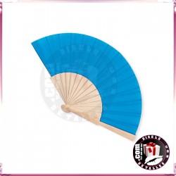 Abanicos de Madera Colores  23 cm