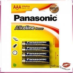 4 Pilas LR03 / AAA Panasoic Powermax3